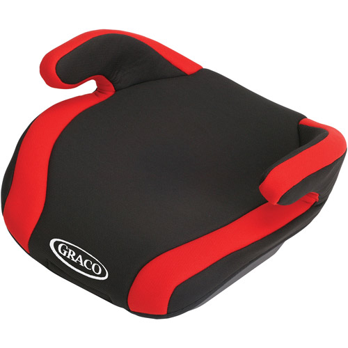 Graco CONNEXT Backless Booster Car Seat with Latch, Red Pepper