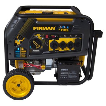 Firman H08051 10000 Watt Dual Fuel (Hybrid) Portable Generator