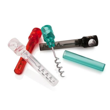 Asstd Colors Set (TRUE Covert Set of 2 Transparent Pocket Corkscrews in Asstd)