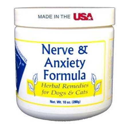 Doc Ackermans Nerve & Anxiety Formula, Chamomile soothes excited nerves. By Doc Ackerman's Herbal
