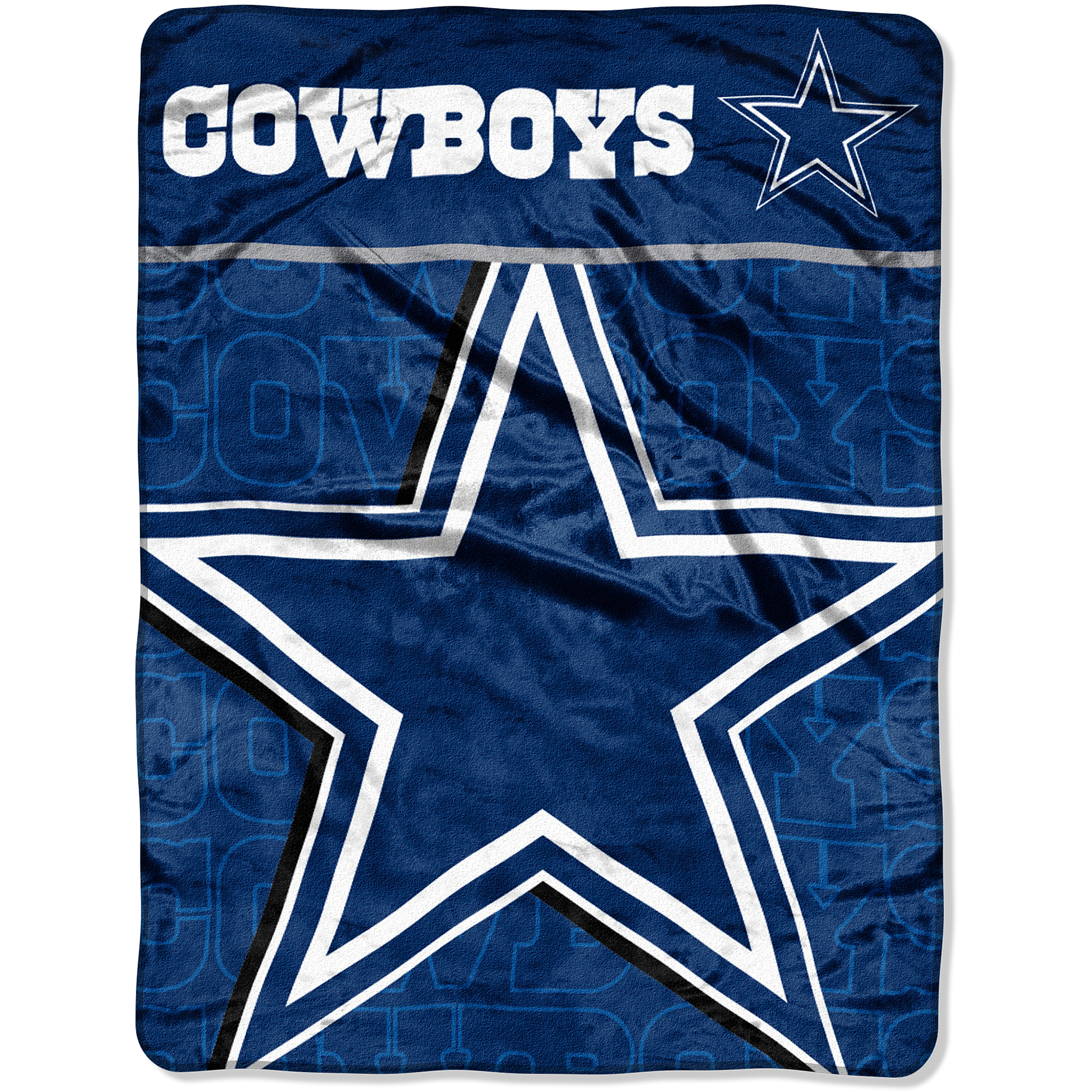 NFL Cowboys 46x60 Micro Raschel Throw