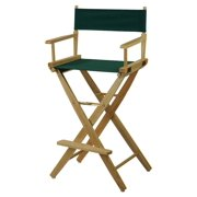 Extra-Wide Comfortable Premium Directors Chair in Natural Finish