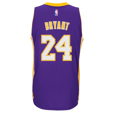 Kobe Bryant Los Angeles Lakers Adidas Road Swingman Jersey  Purple