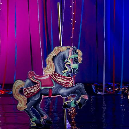 Carousel Horse Prop (7 ft. 6 in. Carousel Horse)