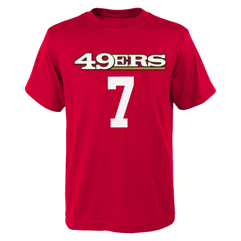 "Colin Kaepernick Youth San Francisco 49ers ""Mainliner"" Player T-shirt"