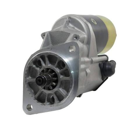 NEW STARTER MOTOR FITS KOMATSU FORKLIFT FD40 4D52 ENGINE 600-813-3240 600-813-3241