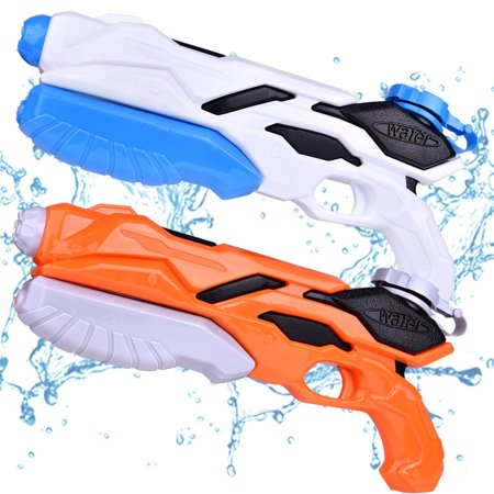 Water Guns for Kids, Pool Toys, Water Soaker Blaster Squirt Guns, Summer Water Games, Pool Party Favors 2PCs F-192 - Water Squirting Flower