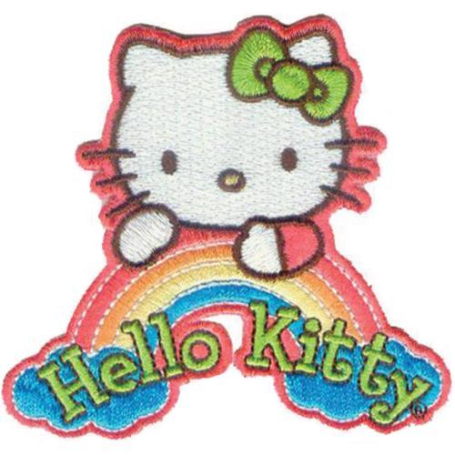 Hello Kitty Patch-Dream Rainbow