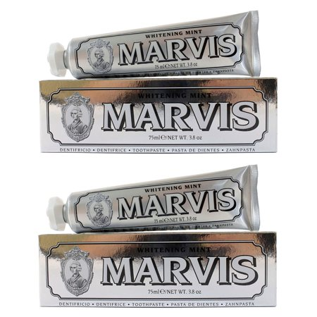 Marvis Whitening Mint Toothpaste 3.8 oz - Pack of 2