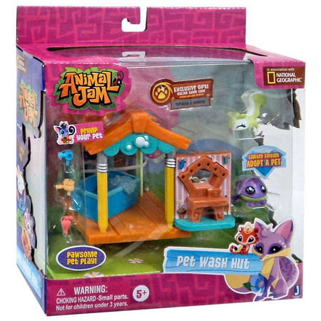 Animal Jam Pet Wash Hut Playset (Jabba The Hutt Pet)