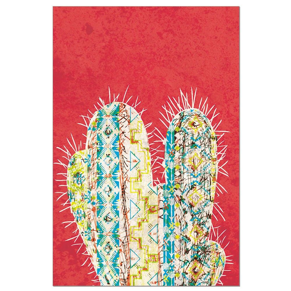 Tree-Free Greetings Vibrant Cactus Boxed ECOnotes Blank Note Cards-FS56295