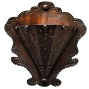Jezebel Gallery Radiance Tribal Flower 2 Light Wall Sconce