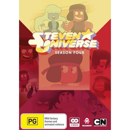 Steven Universe: Season 4 (DVD) - Steven Universe Shop