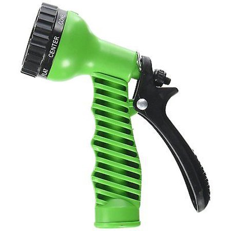 Sprayer Head - 2 Pack 7 Patterns Water Nozzle Head Hose Sprayer Garden Spray Auto Car Washing Gun home
