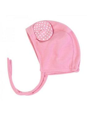 Baby Hats Newborn Photography Props Baby Cap Adjustable Cute Dot Ears Hat