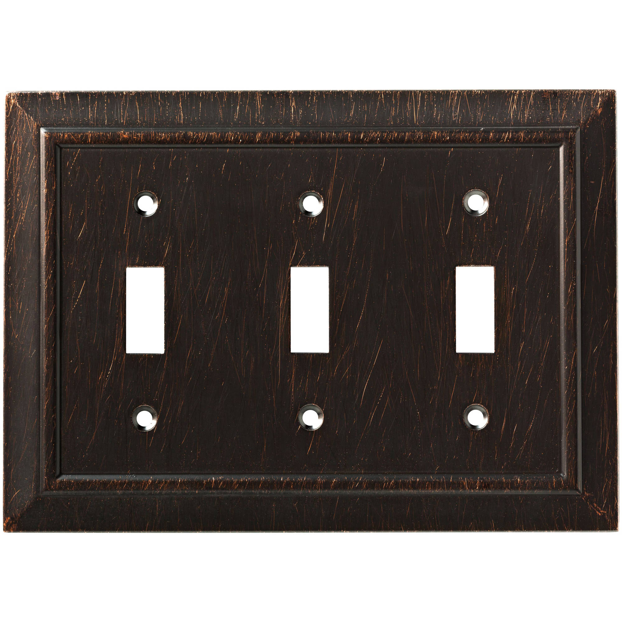 Franklin Brass Classic Architecture Triple Switch Wall Plate