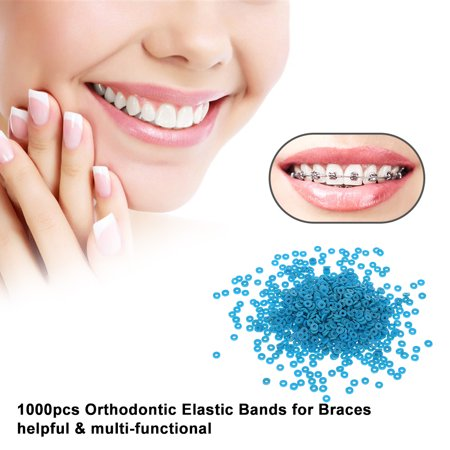 Orthodontic Elastic Bands For Braces Rubber Bands Rings