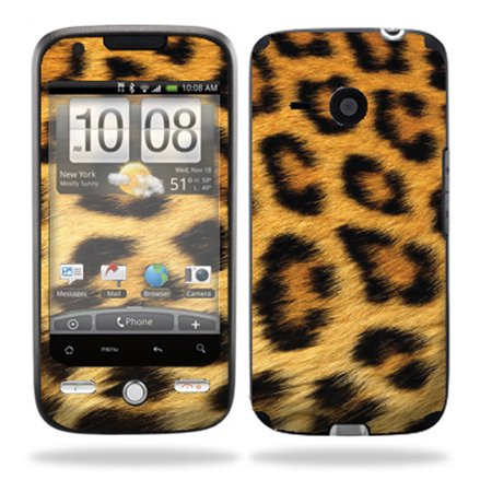 Mightyskins Protective Vinyl Skin Decal Cover For Htc Droid Eris Verizon Cell Phone Wrap Sticker Skins   Cheetah
