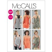 McCall's Pattern Misses' and Women's Tunics, A5 (6, 8, 10, 12, 14)