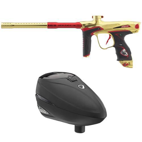 Dye DM15 Paintball Gun w  Dye R2 Hopper by