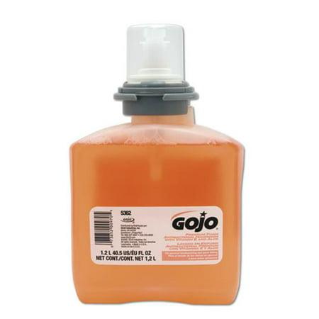 Gojo Industries GOJ 5362-02 TFX Premium Foam Antibacterial Hand Soap - Industries Refill