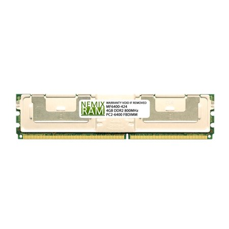 Supermicro equivalent MEM-DR240L-HL01-FB8 4GB (1x4GB) DDR2 800 (PC2 6400) ECC Fully Buffered FBDIMM Memory RAM