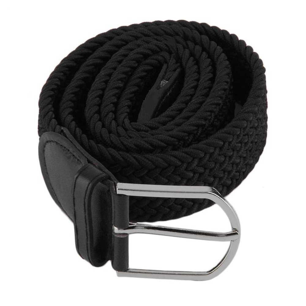 Belt Straps  Men/'s  Woven  Braided  Stretch  Waistband  Waist  Canvas  Elastic