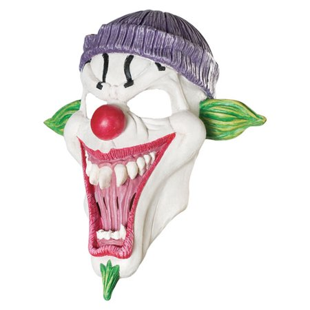 Child Smiley Clown Mask Rubies - Smiley Mask Horror