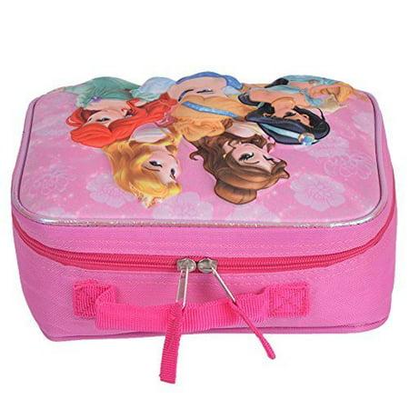 Disney Princess EVA Kids 3D School Lunch Box Bag [Pink]