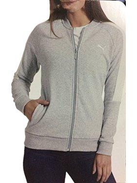 4dd3b4ebbed2 Product Image Puma Ladies Track Jacket (Lt Grey Heather