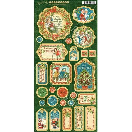 Christmas Magic Chipboard Die-Cuts 6