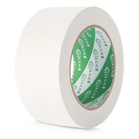 5cm x 50m Heat Crepe Paper Tape for 3D Printer Heated Bed Crystal Cream