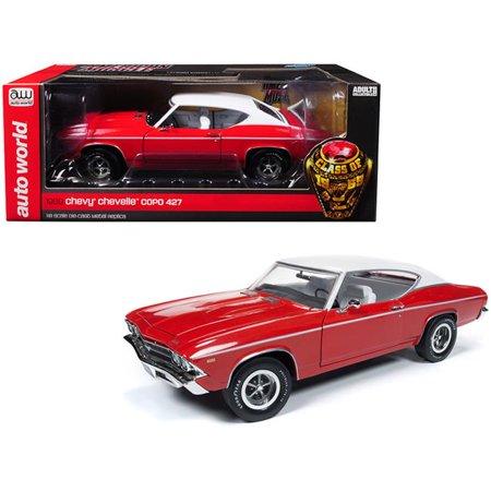 1969 Chevrolet Truck - 1969 Chevrolet Chevelle COPO Red w/Matt White Top