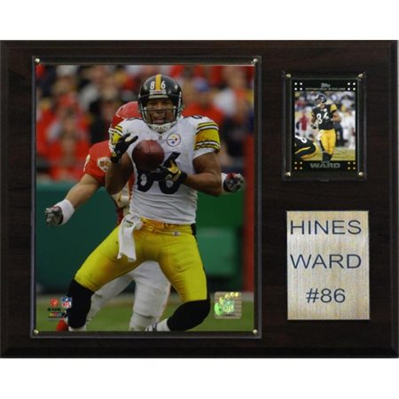 8dc88628880 C   I Collectables 1215HWARD NFL Hines Ward Pittsburgh Steelers Player  Plaque - image 1 ...
