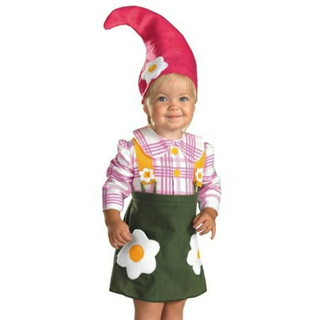 Gnome Girl Toddler Halloween Costume - Toddler Halloween Costumes Ideas Girl