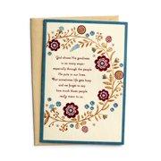 DaySpring  -  Thanksgiving - Thanking God For You - 3 Premium Cards