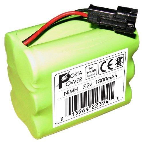 1800mAh Battery Pack for Tivoli Audio PAL iPAL Radio (fits MA-1, MA-2, MA-3) by