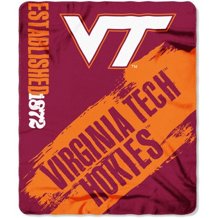 "NCAA Virginia Tech Hokies 50"" x 60"" Fleece Throw"