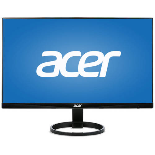 """Acer 23.8"""" LCD Widescreen Monitor (R240HY Black)"""