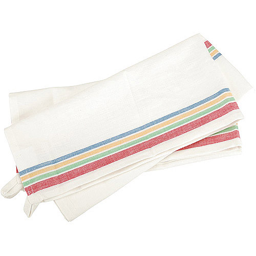 Aunt Martha's Striped Dish Towel, Multi-Color
