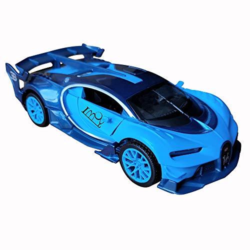 Model car 1:32 Bugatti Veyron Diecast Sound /& Light /& Pull Back Model Toy Car Red