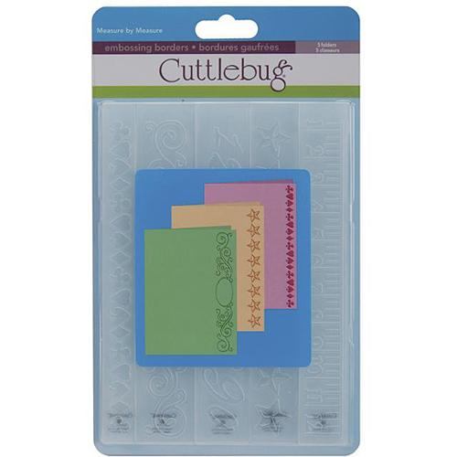 Cricut Cuttlebug 'Measure by Measure' Border Embossing Folder