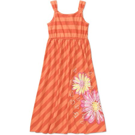 e8f67da550e Faded Glory - Faded Glory Girls Maxi Dress - Walmart.com