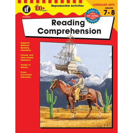 Reading Comprehension, Grades 7 - 8 (The Courage Of Sarah Noble Comprehension Questions)