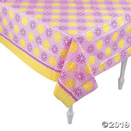Lemonade Party Plastic Tablecloth Walmart Com Walmart Com