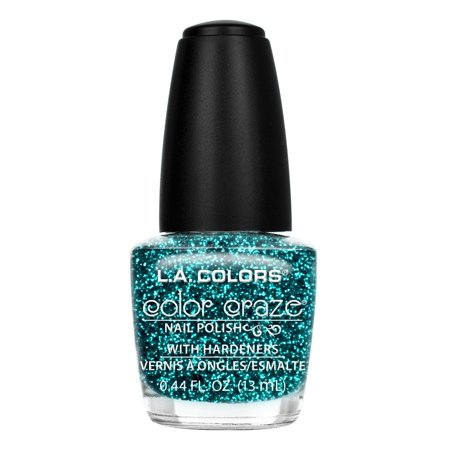 LA Colors Color Craze Nail Polish, Treasure Island, 0.44 Oz (La Splash Nail Polish)
