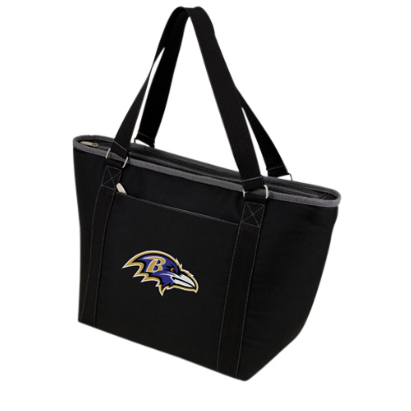 Picnic Time Topanga Cooler, Black Baltimore Ravens Digital Print