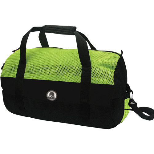 Stansport Mesh Top Sport Bag, Green/Black