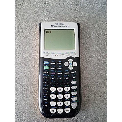 Refurbished Yellow TI-84 Plus Graphic Calculator Texas Instruments TI84 Graphing