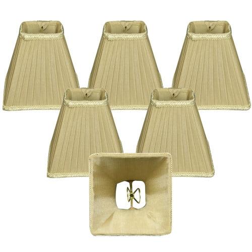 Alcott Hill 5'' Silk Empire Lamp Shade (Set of 6)